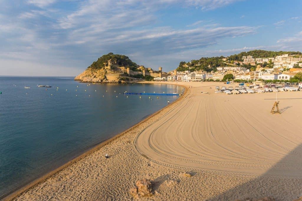 Beaches on the Costa Brava