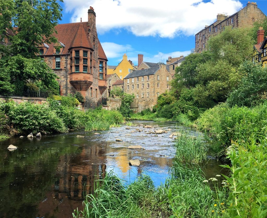 River at Dean Village Edinburgh