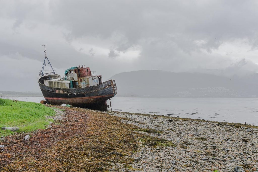 Things to Do in Fort William: Corpach Wreck