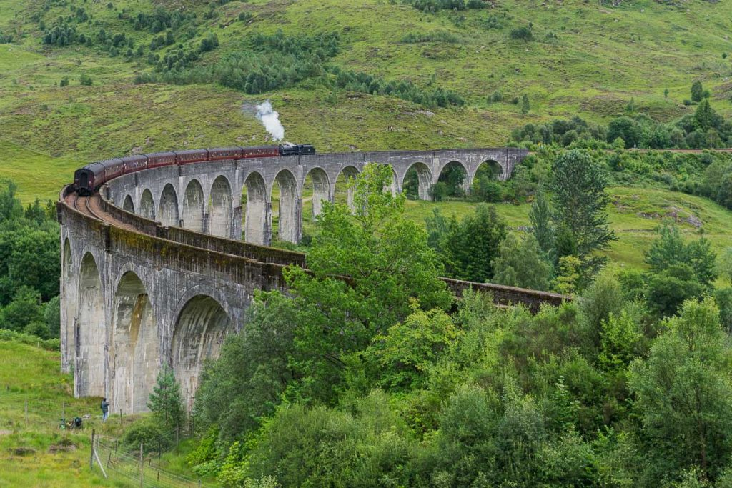 Movies Set in Scotland - Glenfinnan Viaduct