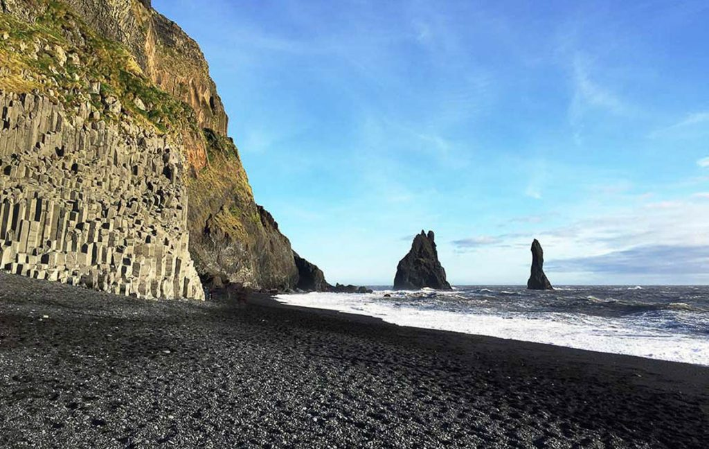 Game of Thrones Iceland - Black Sand Beach