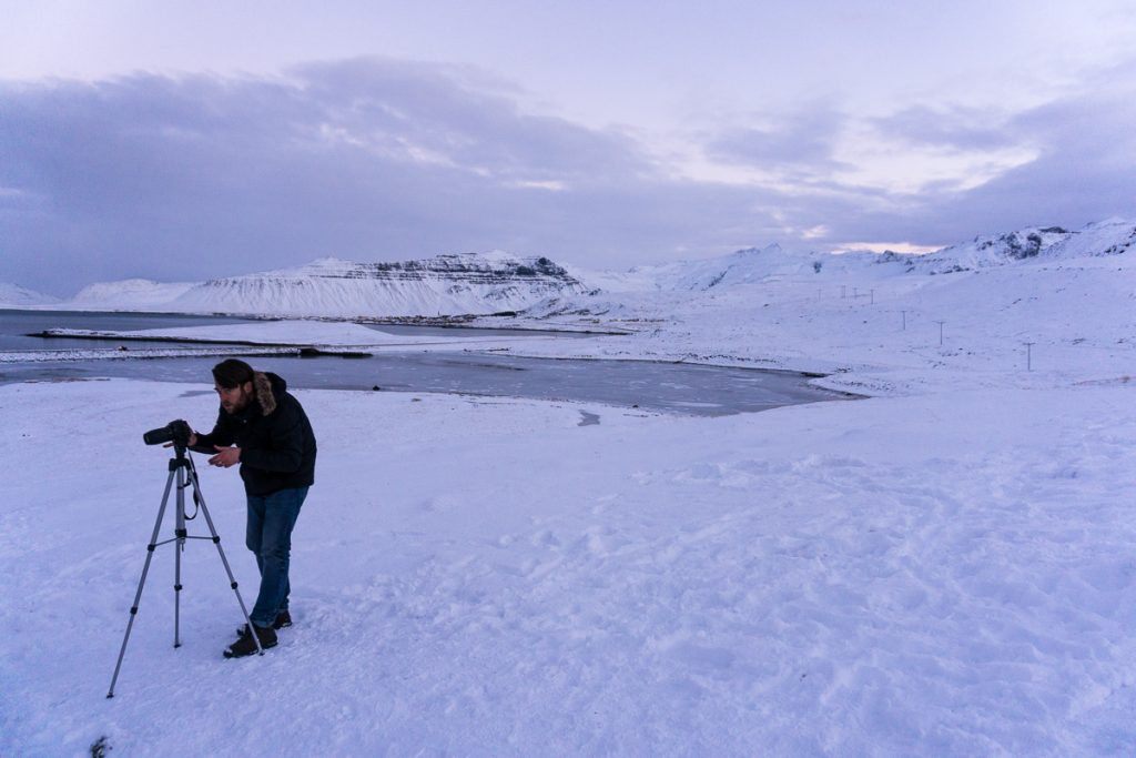 Iceland winter tours: winter landscape