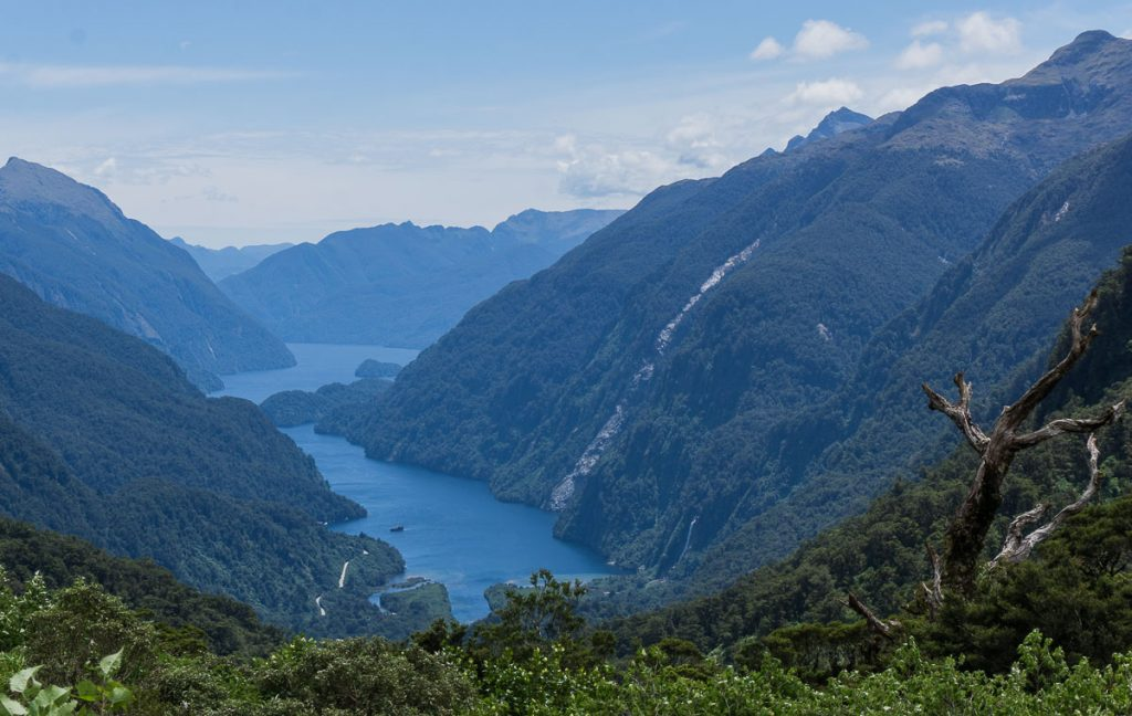 New Zealand South Island Itinerary - Doubtful Sound