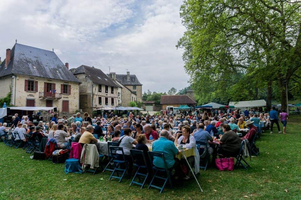 Markets in the Dordogne