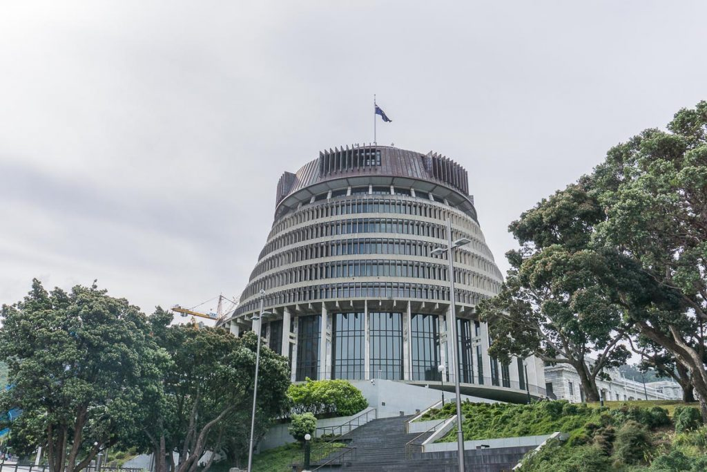 Free Things to Do in Wellington - Beehive Tour