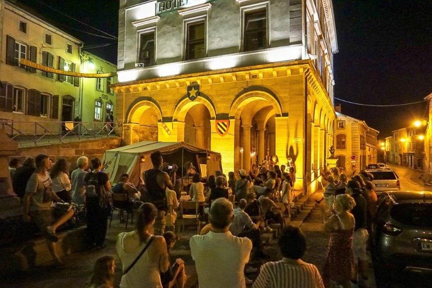 Evening Festival, Fontenoy le Chateau