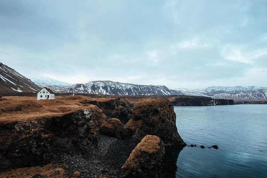 Hikes in Iceland - Arnarstapi