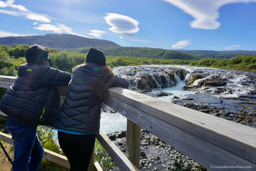 Hikes in Iceland - Bruarfoss