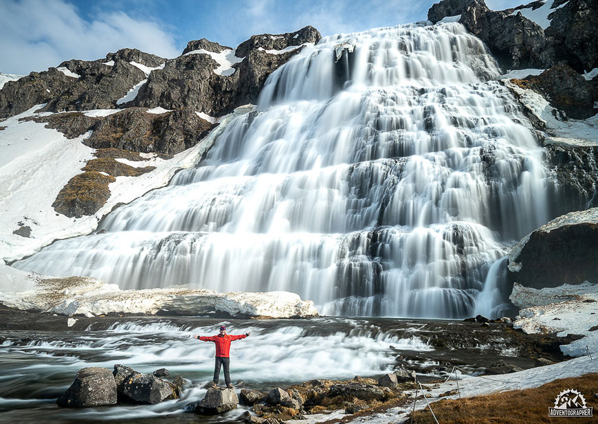 Hikes in Iceland - Dynjandi Waterfall