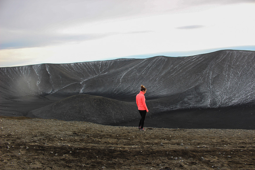 Hikes in Iceland - Hverfjall Crater