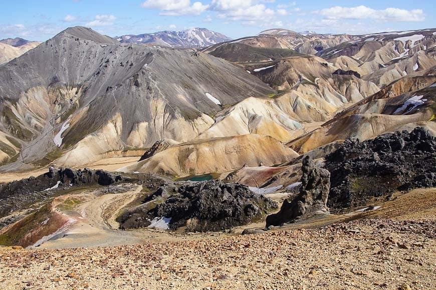 Hikes in Iceland - Landmannalaugar