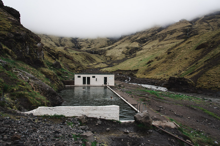 Hikes in Iceland - Seljavallalaug Hot Spring