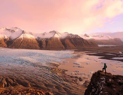 Hikes in Iceland - Skaftafell National Park
