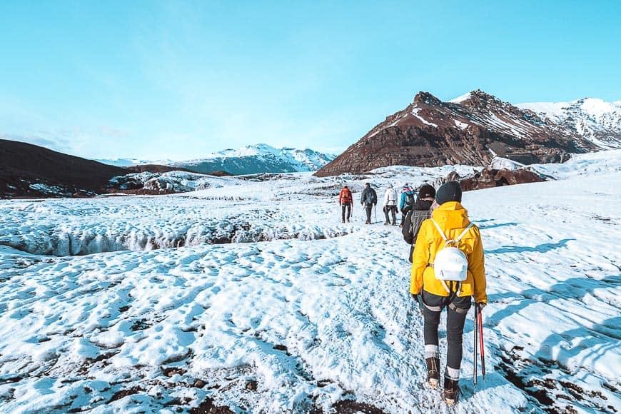 Hikes in Iceland - Svinafellsjokull