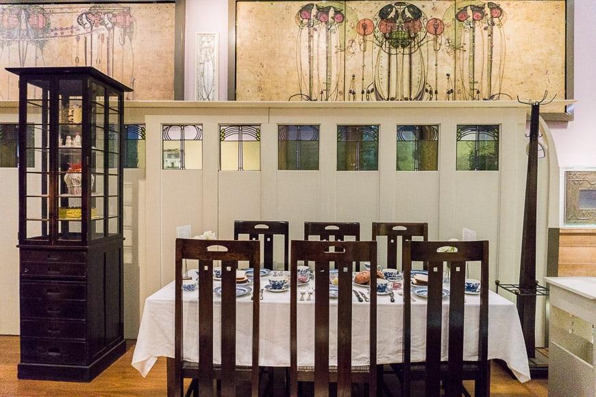 Mackintosh Exhibition Kelvingrove