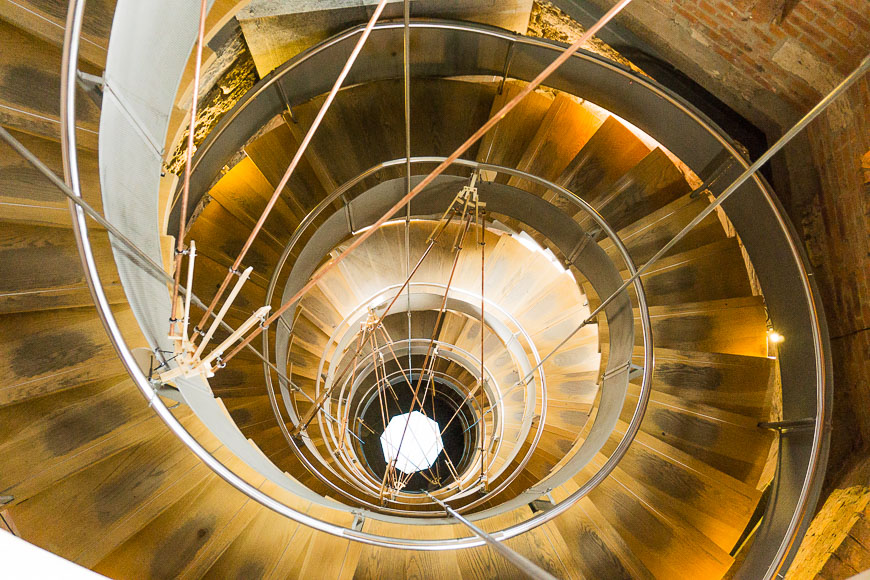 The Lighthouse staircase Glasgow