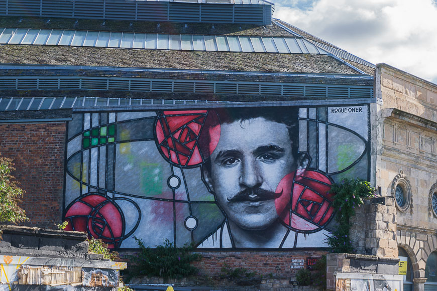 Mackintosh Mural The Clutha Glasgow