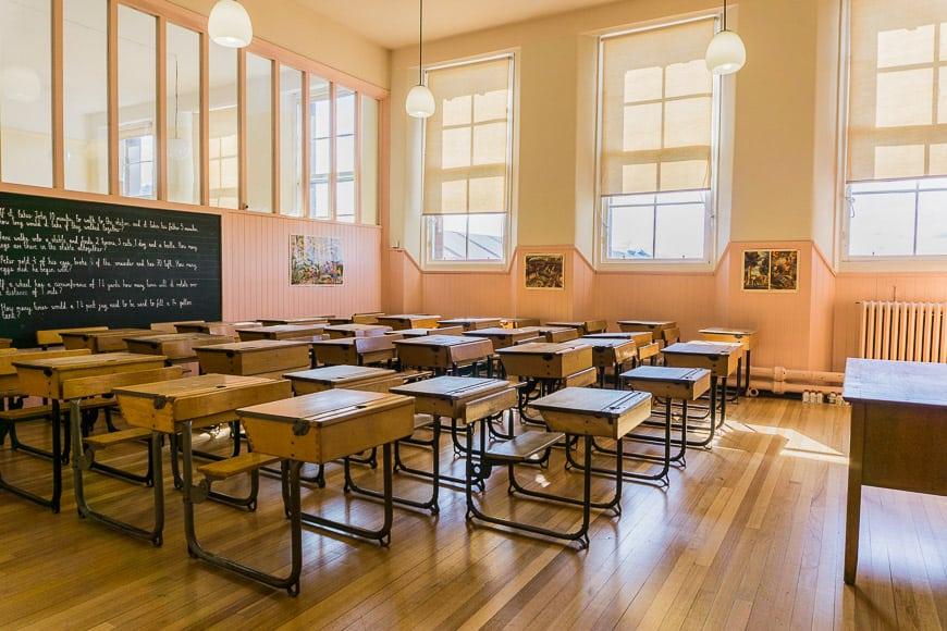 Mackintosh Glasgow - Scotland Street School Museum inside