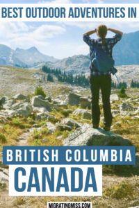 The Best Outdoor Adventure Activities in British Columbia, Canada