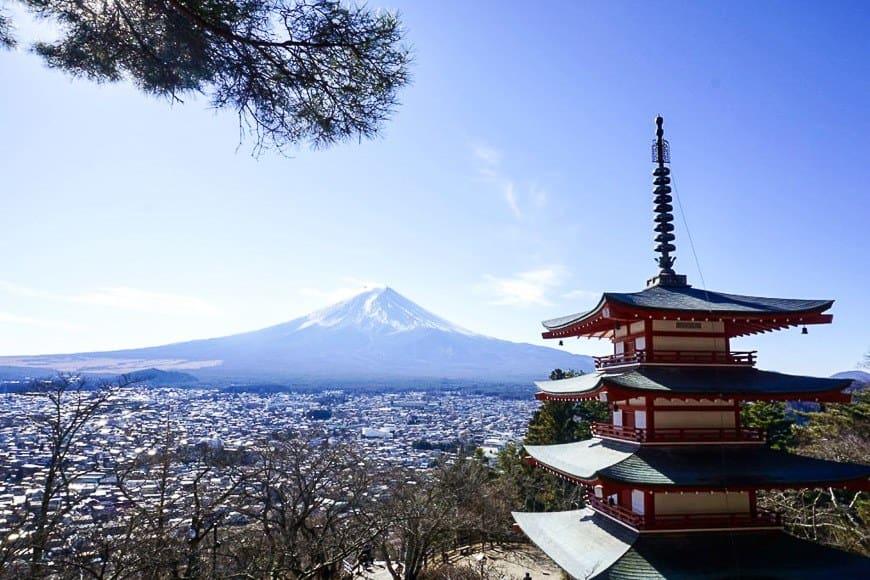 Day Trips from Tokyo - Chureito Pagoda
