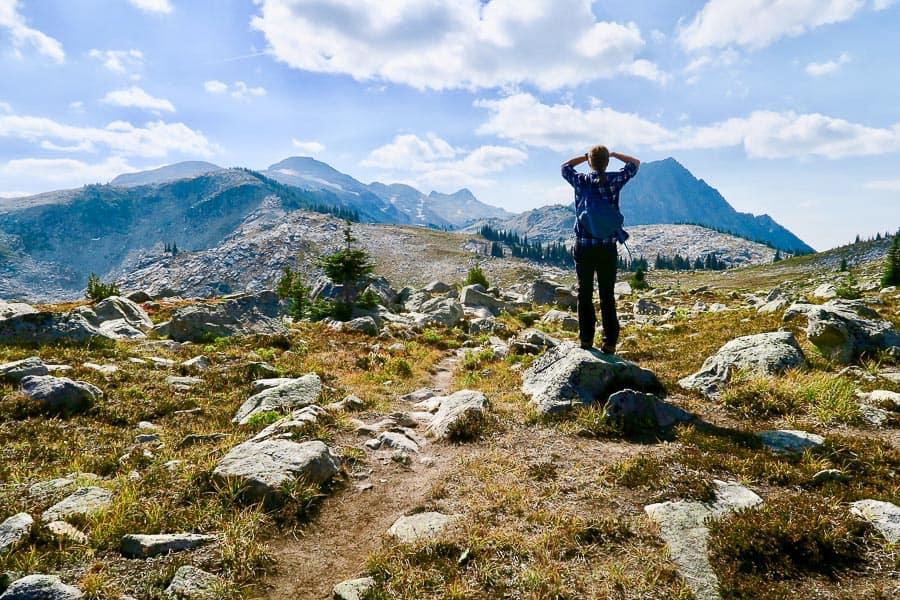 Hiking in BC - Kokanee Glacier Provincial Park
