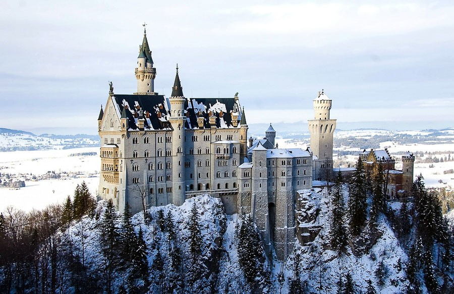 Day trips from Munich in winter