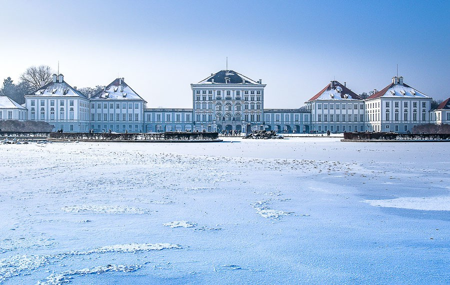 Munich in winter - Nymphenburg Palace
