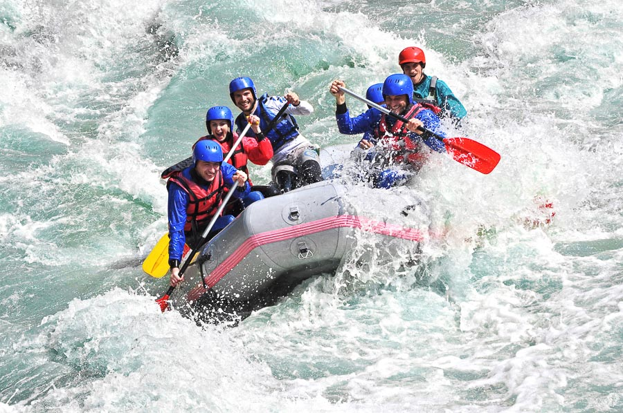 White Water Rafting - Perth Itinerary with kids