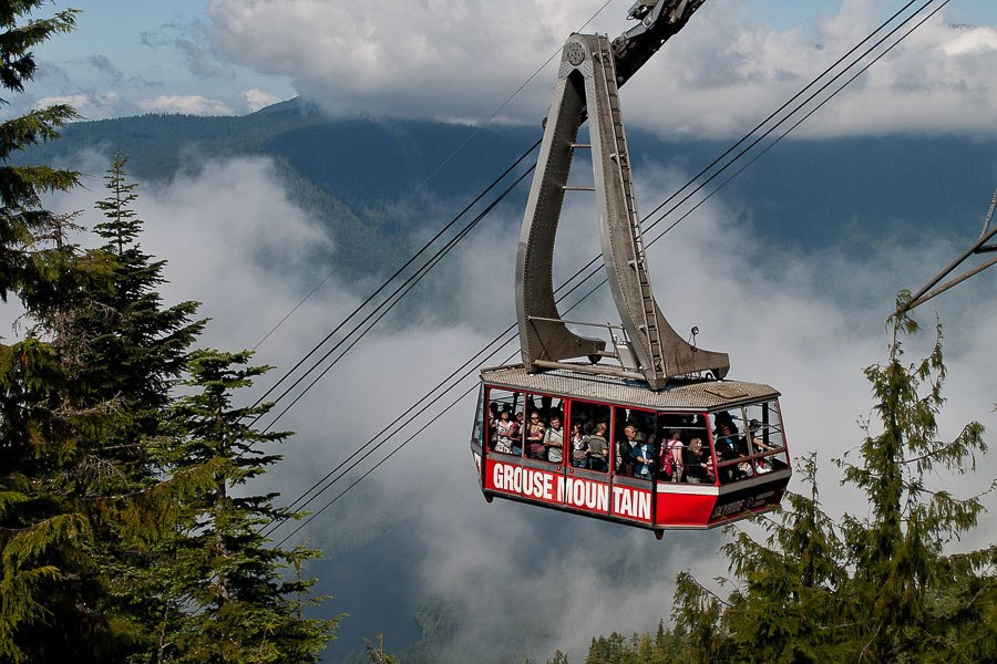 4 Days in Vancouver - Grouse Mountain
