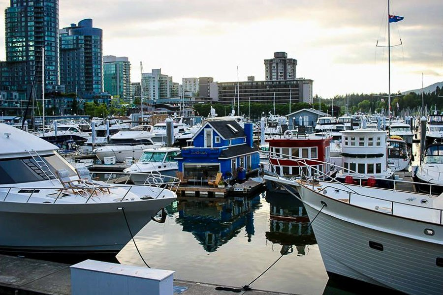 4 Days in Vancouver - Vancouver Harbour