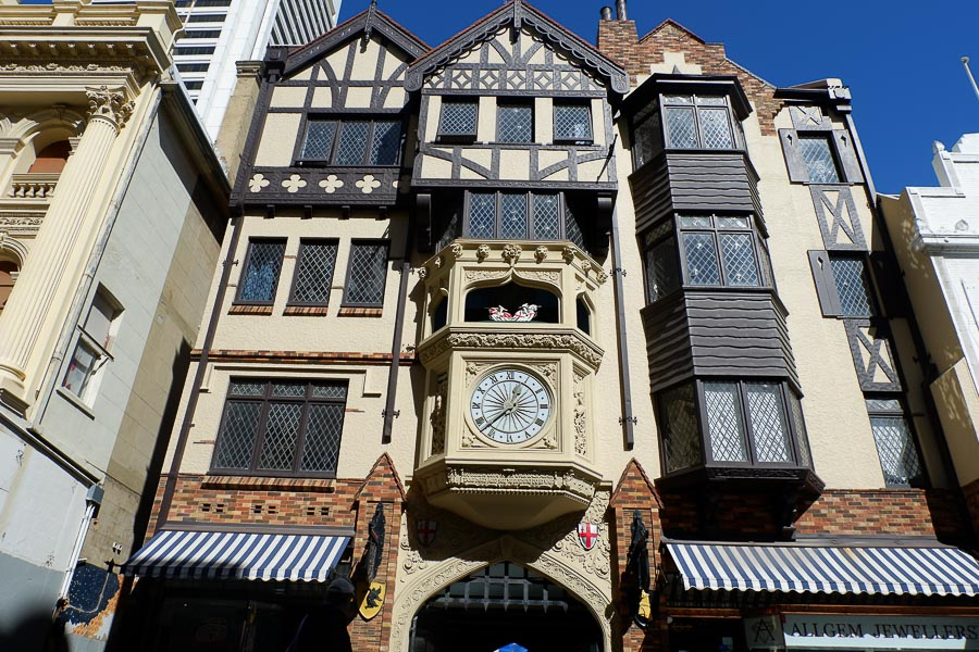 London Court - 3 Days in Perth Itinerary