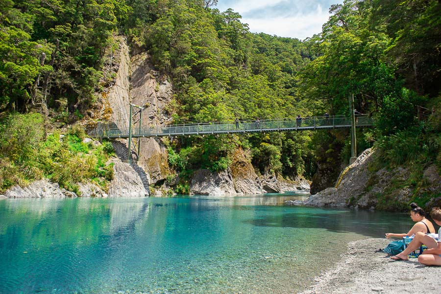 Blue Pools - Best Hikes South Island New Zealand