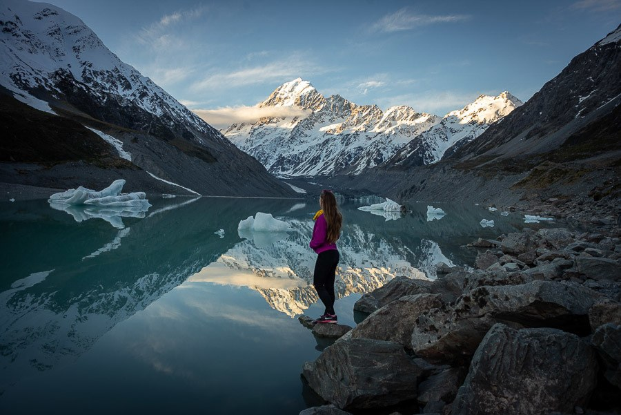 Hooker Valley - Best Hikes South Island New Zealand