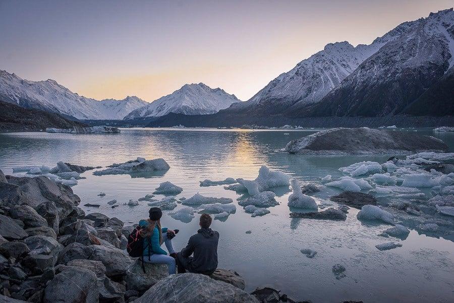 Tasman Glacier - Best Hikes South Island New Zealand