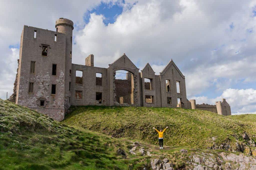Slains Castle, Cruden Bay Scotland