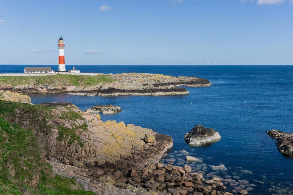 Buchan Ness Lighthouse, Boddam, Scotland