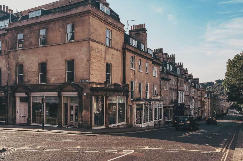 Babymoon Destinations Europe-Bath - Street in Bath