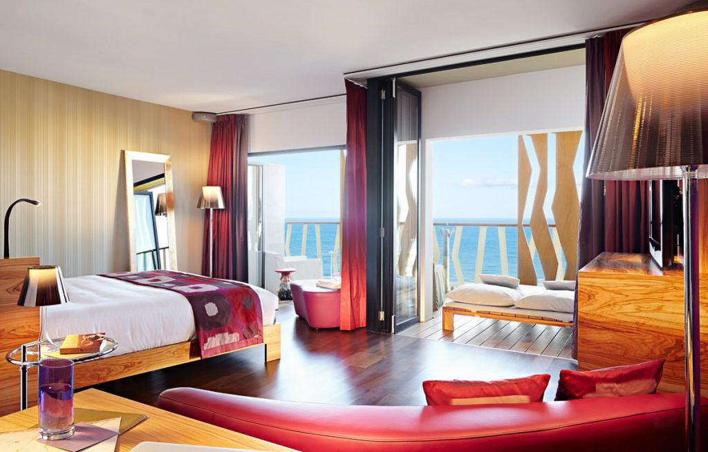 Babymoon Destinations Europe-Gran Canaria - Hotel Room with sea view out window
