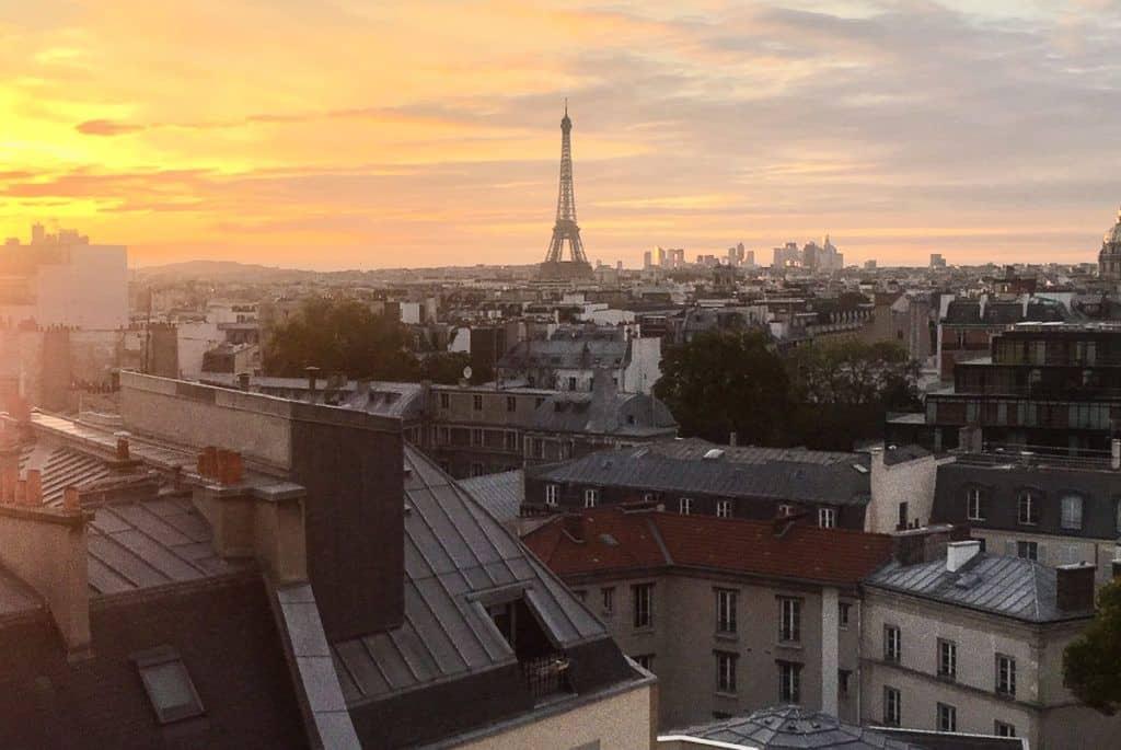 Babymoon Destinations Europe-Paris Eiffel Tower view