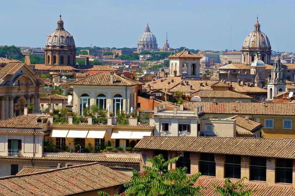 Rome Italy - Rooftops in Rome