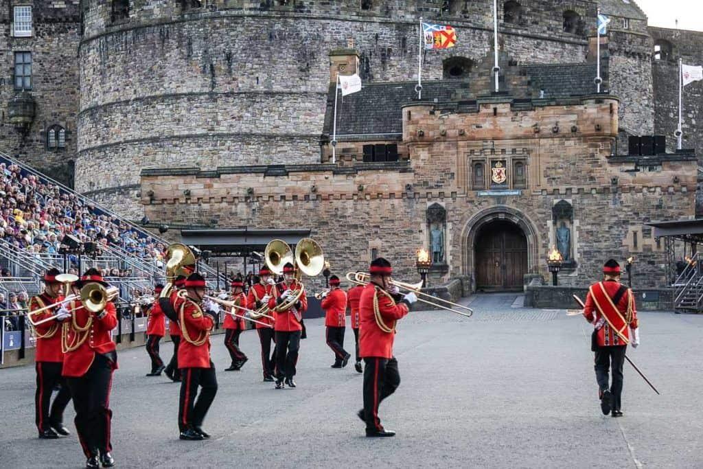 Edinburgh Military Tattoo - New Zealand Army Band