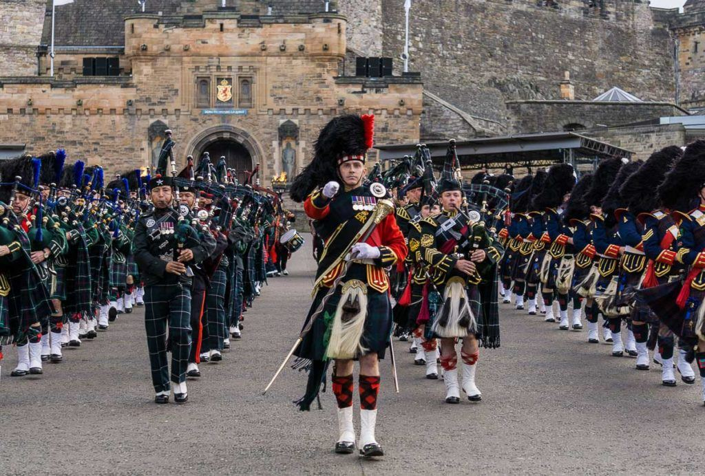 Edinburgh Military Tattoo - Military Band in Highland Dress