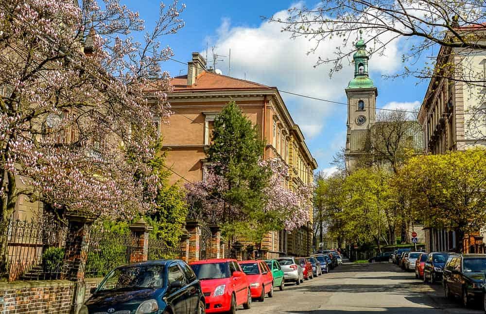 Europe in Spring - Cieszyn Poland