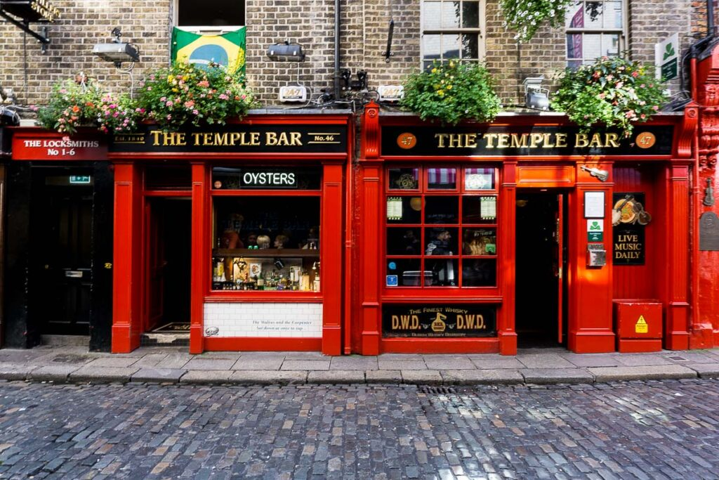 Temple Bar in Ireland