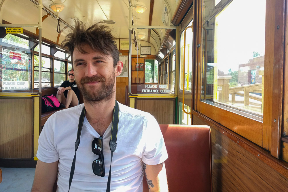 Expat in Edmonton - Ben -High Level Street Car in Edmonton