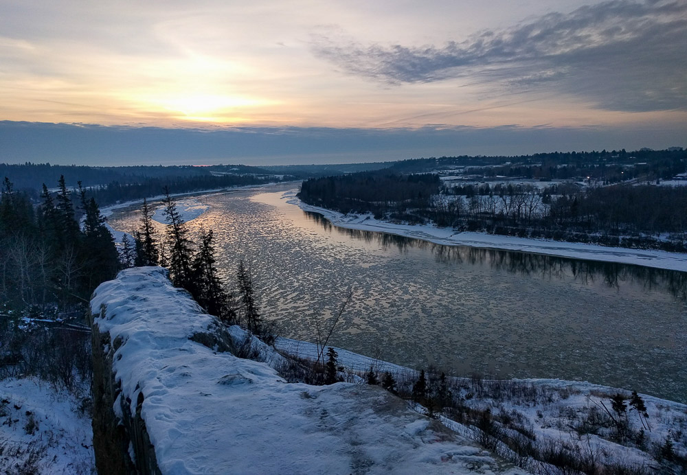 Expat in Edmonton - End of the World in winter