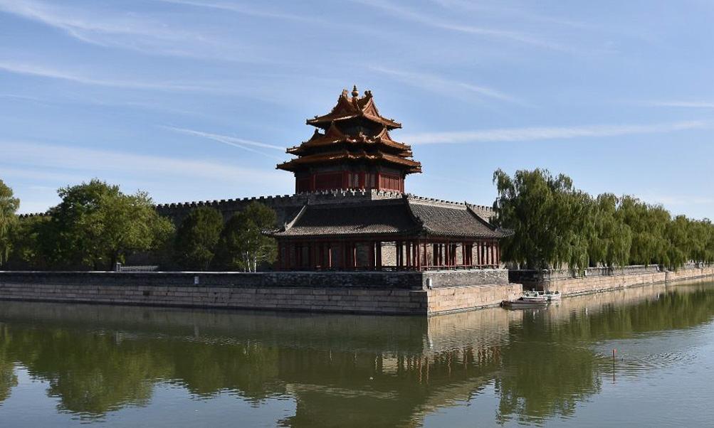 Living in Beijing - Forbidden City Moat