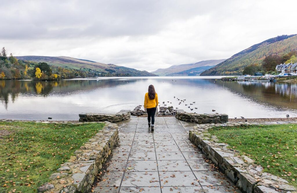 Moving Abroad Solo - Walking to Loch Tay Scotland