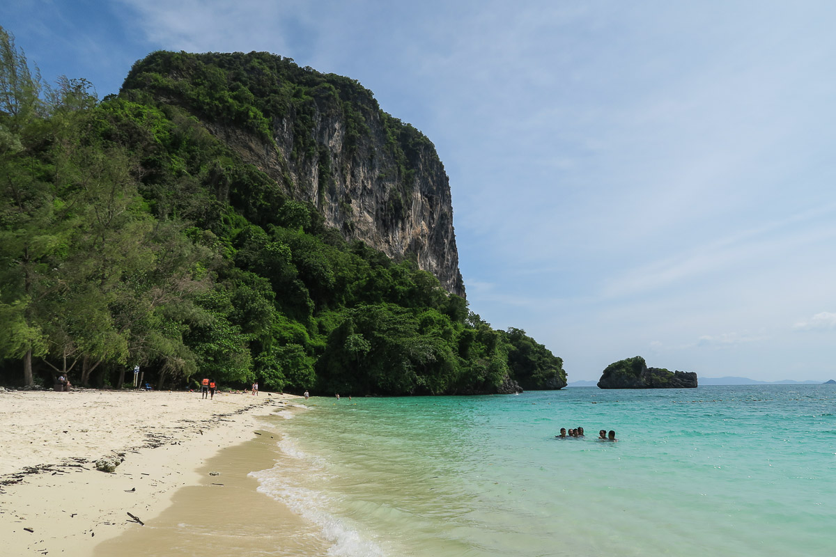 Solo travel Southeast Asia - Thailand Beach