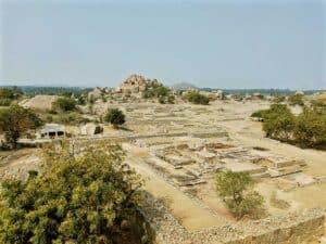 View over Hampi India
